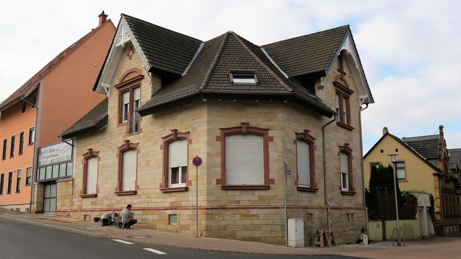 Umgestaltung einer Fassade in Alzey