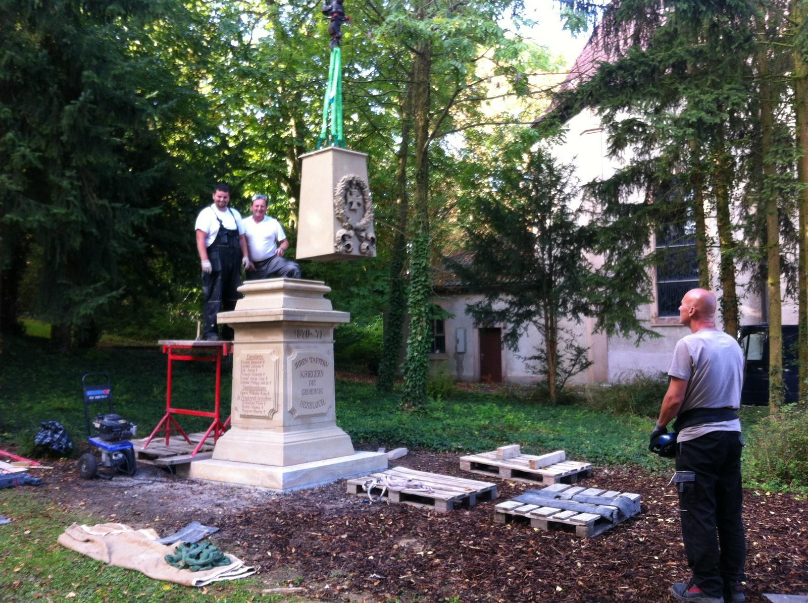 Denkmal in Hessloch